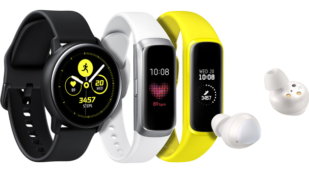 Galaxy Fit e Galaxy Fit E e Galaxy Watch Active