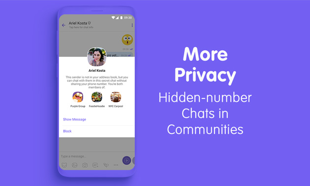 Hidden-number Chats