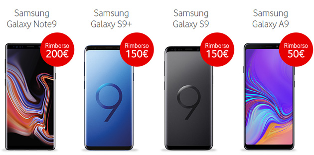 Samsung Blue Days 2019: smartphone in promozione: Galaxy Note9, Galaxy S9,  Galaxy S9 Plus o Galaxy A9 (2018)