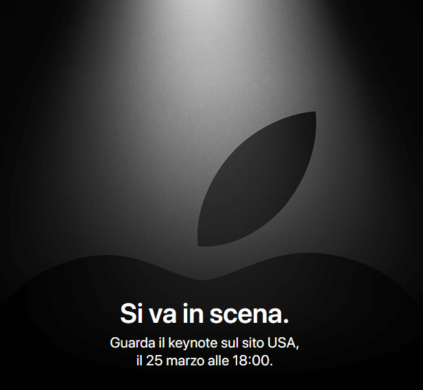 Apple, evento 25 marzo 2019 'si va in scena'