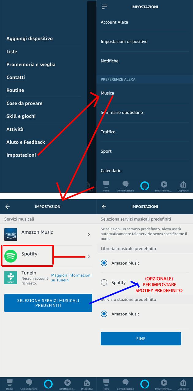 Come Collegare Spotify con Alexa | Impostazione e comandi ...