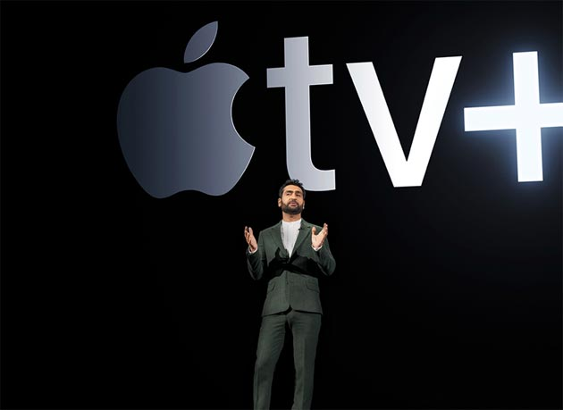 Kumail Nanjiani condivide la propria storia all'evento Apple a marzo 2019