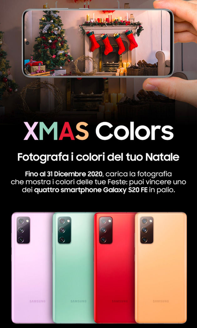 Samsung Members per Natale 2020 - XMAS Colors