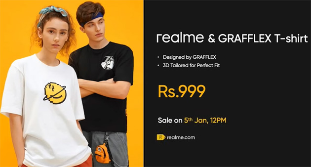 T-Shirt Realme by Grafflex