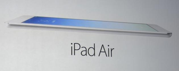 Apple presenta iPad Air