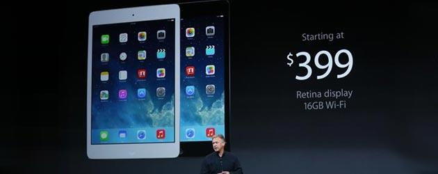 Apple presenta iPad mini con Retina Display