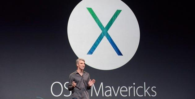 Apple: aggiornamento OS X Mavericks Gratis