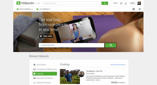 Google Helpouts, video chat con esperti per sessioni di insegnamento