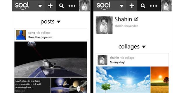 Socl, social netowrk di Microsoft, su iOS, Android e Windows Phone