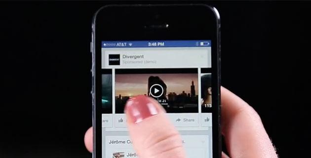 Facebook presenta i Video Pubblicitari