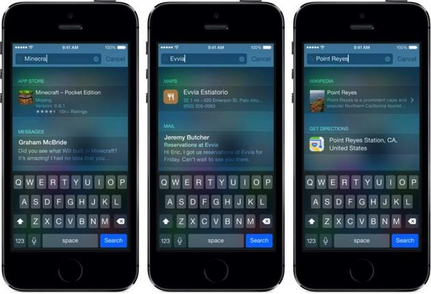 Apple iOS 8: come risolvere i problemi di Spotlight