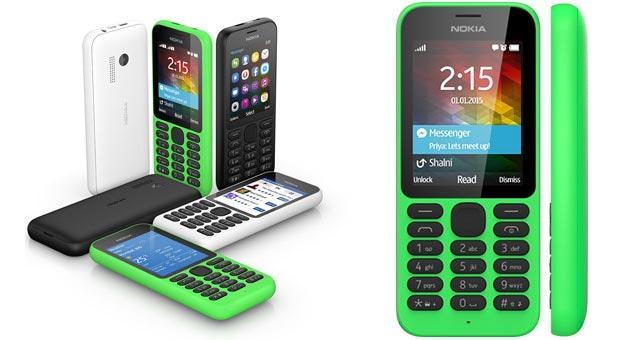 Microsoft annuncia i lowcost Nokia 215 e Nokia 215 Dual SIM