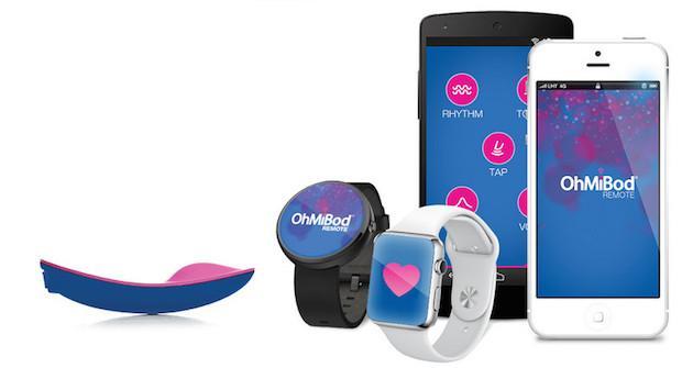 OhMiBod, vibratore sincronizzato al battito cardiaco comandabile da Smartwatch