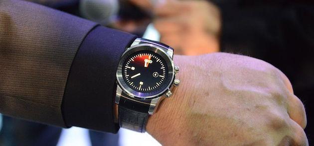 CES 2015: Audi mostra uno Smartwatch circolare prodotto da LG