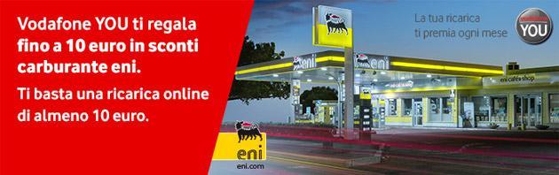 Vodafone YOU Gennaio 2015: sconto 5 Euro da ENI