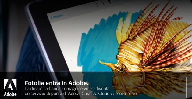 Adobe completa acquisizione di Fotolia