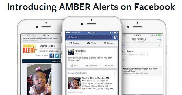Facebook, arrivano nel News Feed le segnalazioni dei bambini scomparsi
