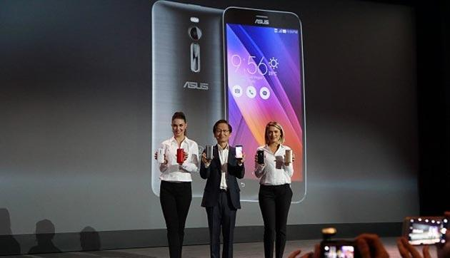 Asus punta a vendere 30 milioni di smartphone nel 2015