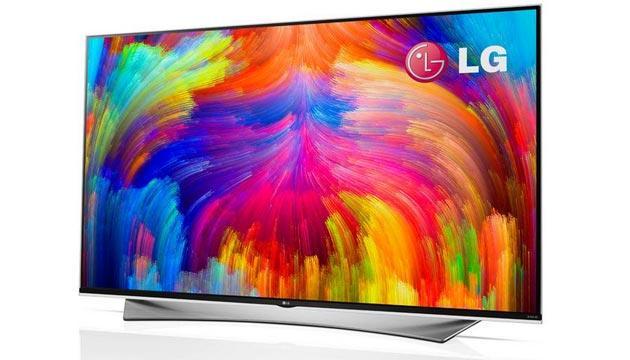 LG con TV a punti quantici a CES 2015