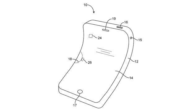 Apple brevetta il suo iPhone flessibile e pieghevole