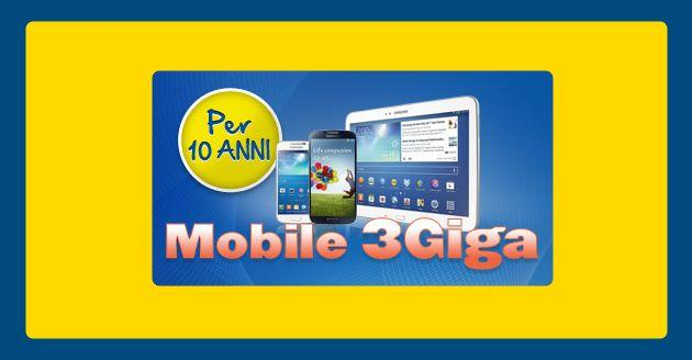PosteMoble 3 Giga, 3 GB a 10 euro al mese per Smarthone, Tablet e PC
