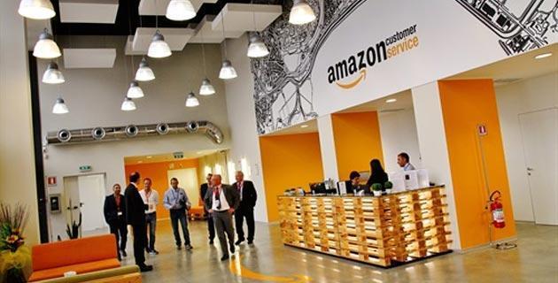 Amazon, 6mila dipendenti assunti nel 2014
