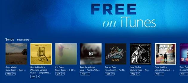 Apple apre la sezione 'Free on iTunes'