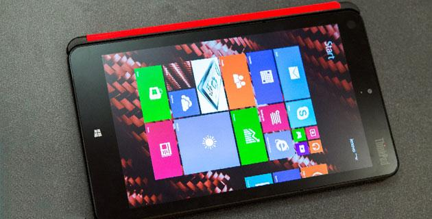 CES 2014: Lenovo ThinkPad 8, tablet Windows 8