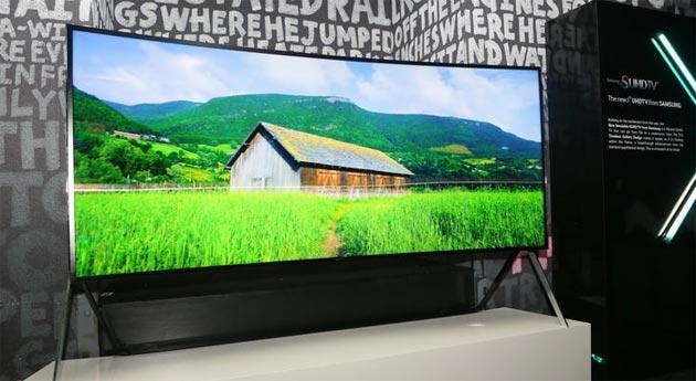 Samsung al CES 2015 con nuovi TV UHD, niente Galaxy S6