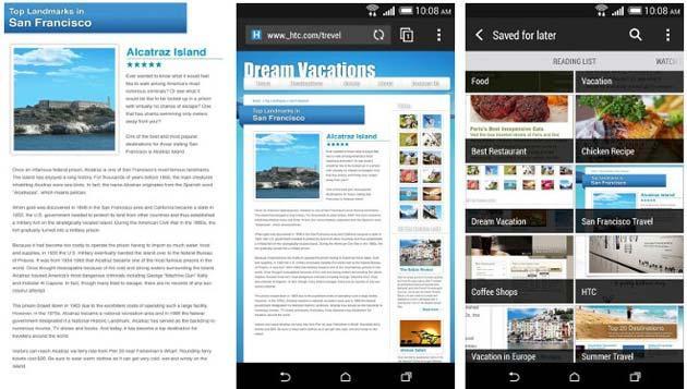 HTC porta il suo browser Sense Web nel Play Store