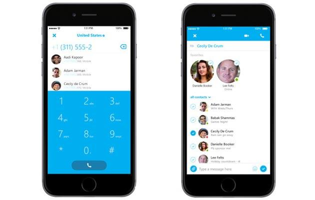 Skype su Apple Watch