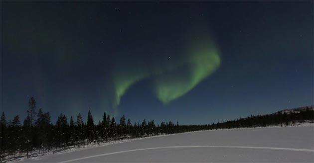 Google: inedita Aurora Boreale visibile in Street View