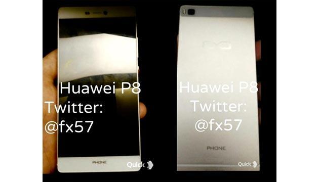 Huawei P8 in foto dal vivo e specifiche rivelate