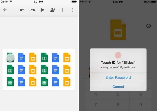 Apple iOS 8 e Google Docs: guida Utilizzo Touch ID