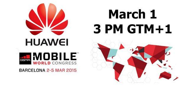 Huawei: conferenza stampa MWC 2015 fissata il 1 Marzo