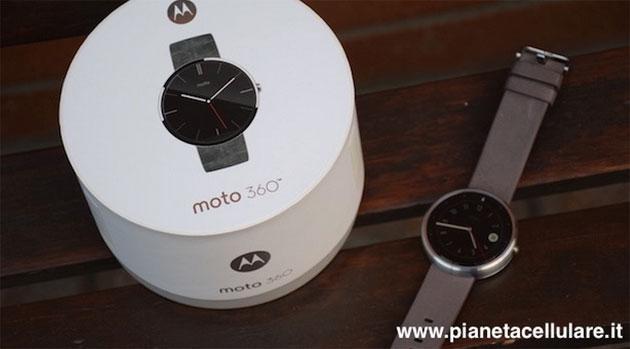 Motorola Moto 360, arriva Android 5.1.1