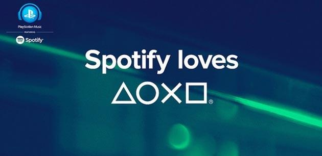 Spotify arriva su PS3 e PS4 con Playstation Music