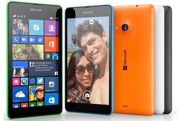 Microsoft ha spedito 500mila Lumia 535 solo in India
