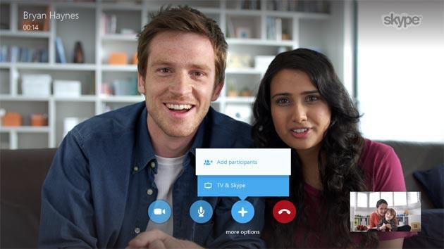 Skype per Smart TV Samsung aggiornata con chiamate di gruppo a 1080p