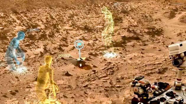 OnSight, la NASA esplora Marte con Microsoft HoloLens