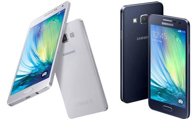 Samsung Galaxy A3, A5 e A7 da gennaio in Italia