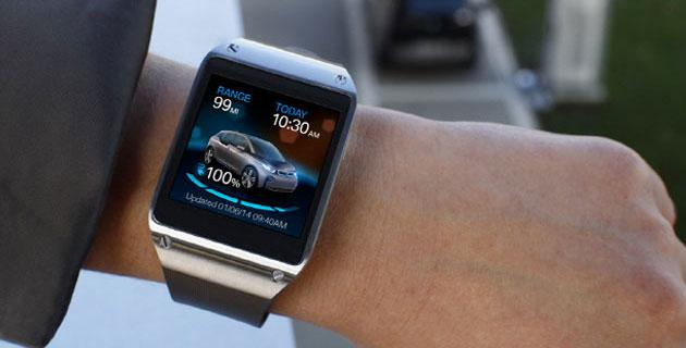 Samsung integra Galaxy Gear nelle auto BMW i3