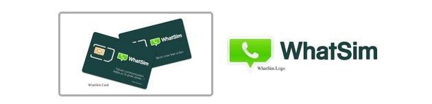 WhatSim, SIM per chattare con WhatsApp