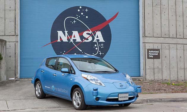 NASA e Nissan per i veicoli autonomi del futuro