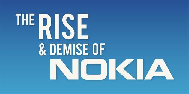 Nokia: La storia di Nokia riassunta in questa infografica