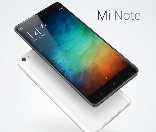 Xiaomi Mi Note e Mi Note Pro ufficiali, Phablet Android Top di gamma Dual Sim e Dual LTE
