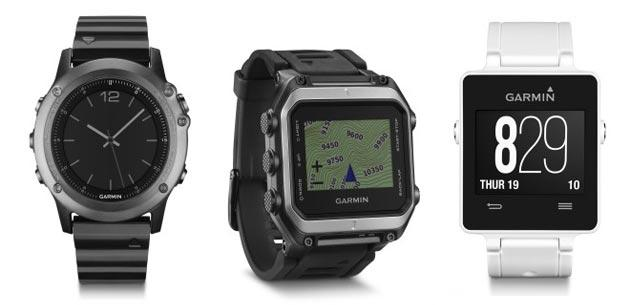 Garmin a CES 2015 presenta Tre nuovi smartwatch