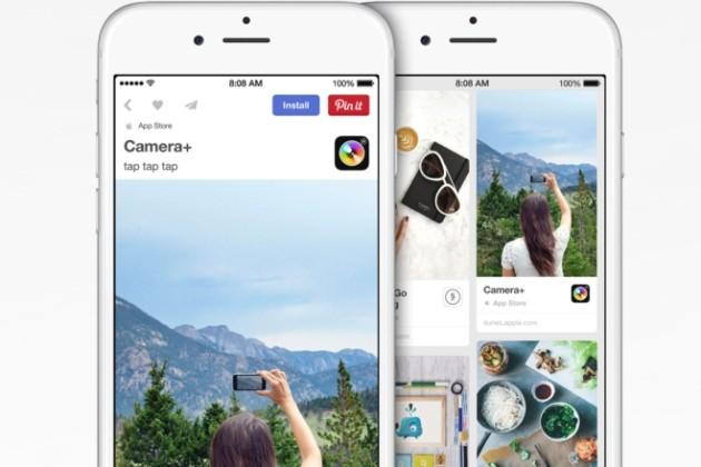 Apple iOS: da Pinterest ora si installano le App