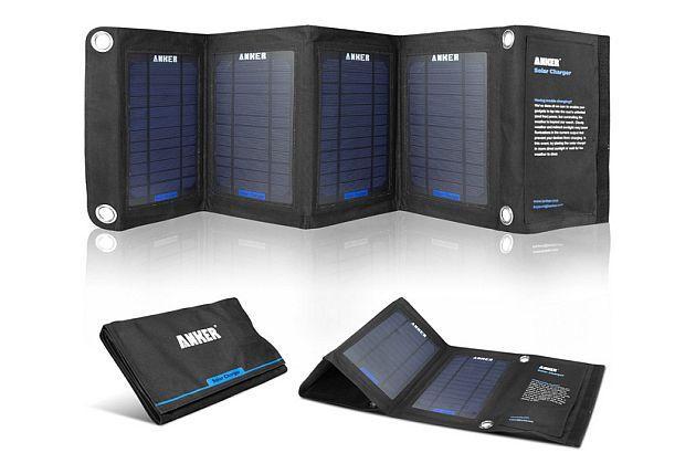 Caricatore Solare Pieghevole: 14 W di potenza solare nel tuo smartphone