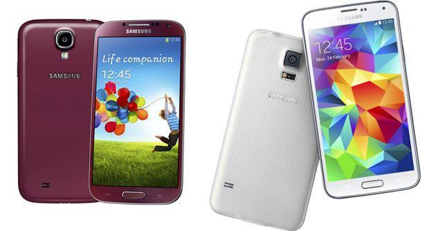 Samsung Galaxy S5 vs Galaxy S4, il confronto completo